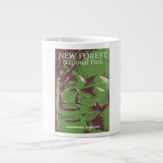 New Forest, Hampshire, England Large Coffee Mug