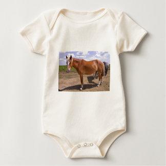 New Forest Ponies Baby Bodysuit