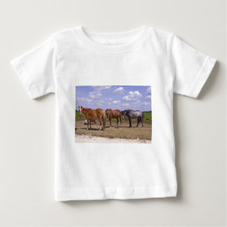 New Forest Ponies Baby T-Shirt