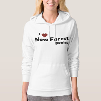 New Forest ponies Hoodie