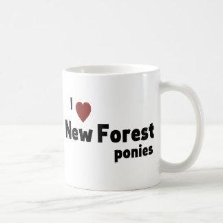 New Forest ponies Mug