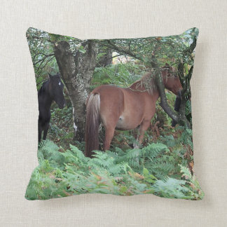 New Forest Ponies of Hampshire England Cushions