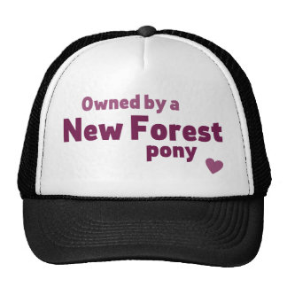 New Forest pony Cap