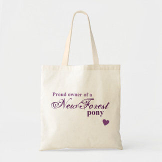 New Forest pony Budget Tote Bag