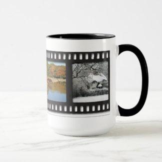 New Forest seasons mug