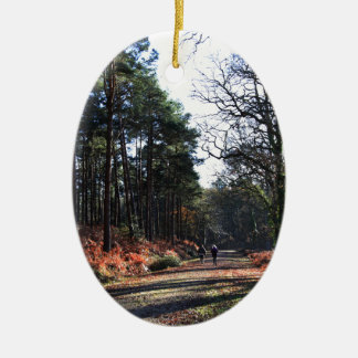 new_forest_walk.JPG Christmas Ornament