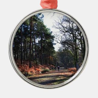 new_forest_walk.JPG Christmas Ornament