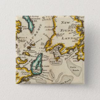 New Found Land, St Laurence Bay, Acadia 15 Cm Square Badge