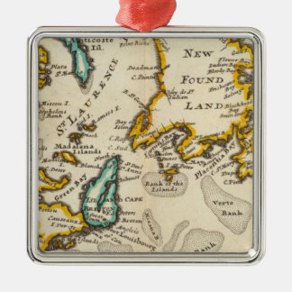 New Found Land, St Laurence Bay, Acadia Christmas Ornament