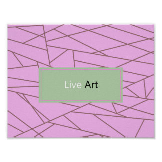 New fresh poster Edition : Live Art!