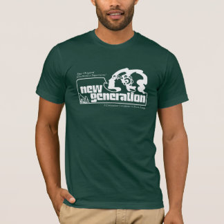 New Generation on Green T-Shirt