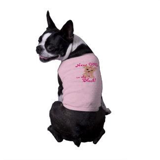 New Girl Sleeveless Dog Shirt
