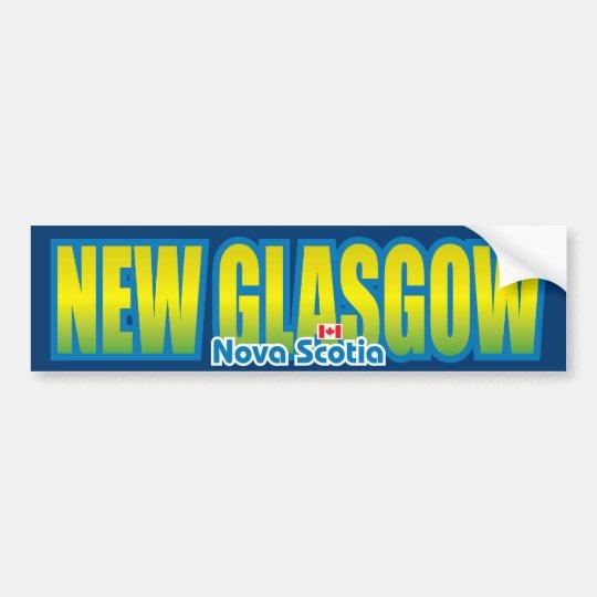 New Glasgow Bumper Bumper Sticker