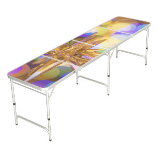 New Glittery Beer Pong Table