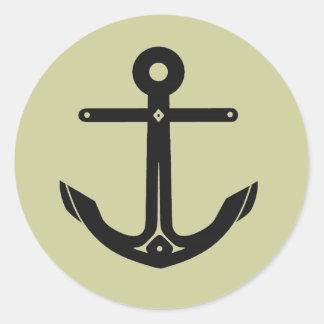 New Goth Anchor Symbol Stickers