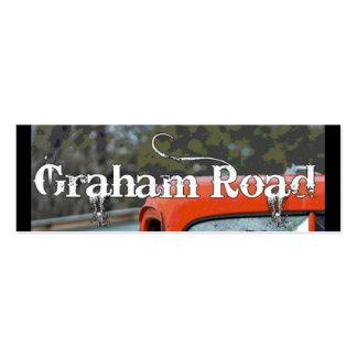 New Graham Rd Business Card