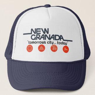 New Granada Tomorrows City Today Trucker Hat