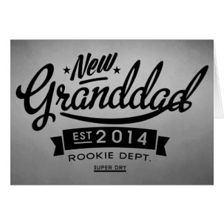 New Granddad 2014 (Inquiry) Greeting Card
