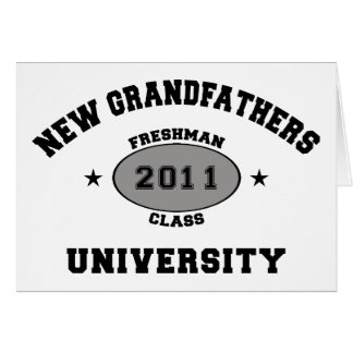 New Grandfather 2011 Greeting Card