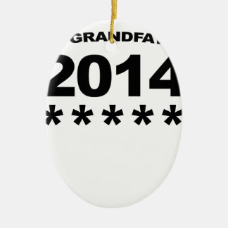 New GRANDFATHER 2014 Shirt.png Ceramic Oval Decoration