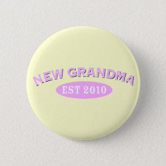 New Grandma 2010 6 Cm Round Badge