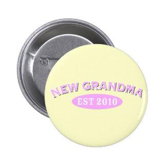 New Grandma 2010 Button