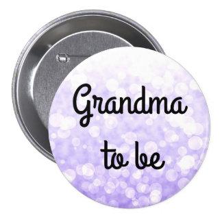 new grandma 7.5 cm round badge