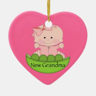 New Grandma Christmas Ornament