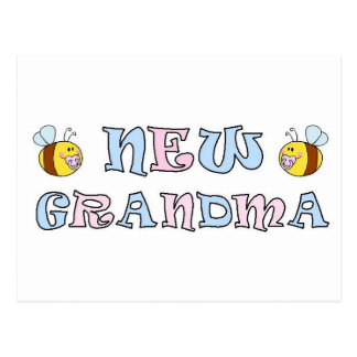 New Grandma Postcard