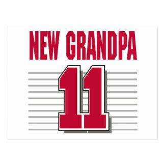 New Grandpa 2011 T-Shirt Gifts Postcard