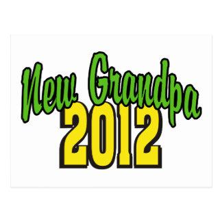 New Grandpa 2012 Post Cards