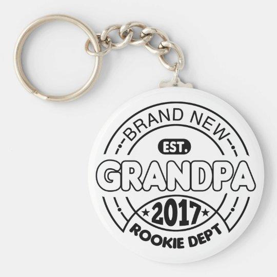 New Grandpa 2017 Key Ring