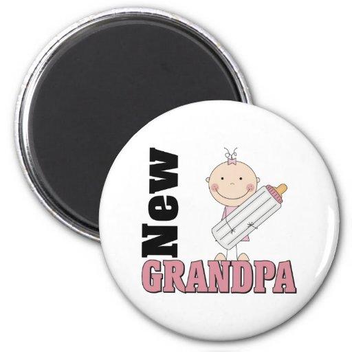 New Grandpa 6 Cm Round Magnet