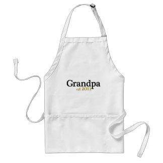 New Grandpa est 2011 Standard Apron