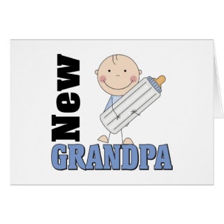 New Grandpa Gift Card