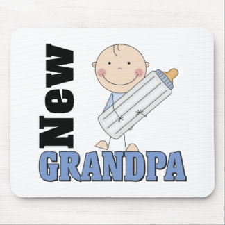 New Grandpa Gift Mouse Pads
