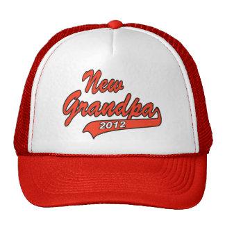 New Grandpa Grandfather 2012 Trucker Hats