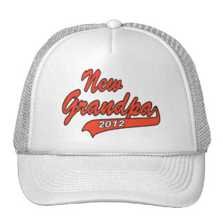 New Grandpa Grandfather 2012 Hats
