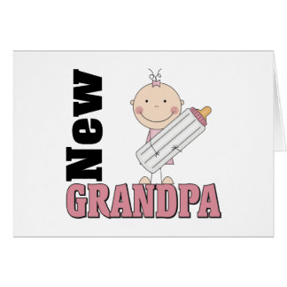 New Grandpa Greeting Card