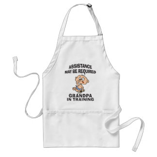 New Grandpa In Training Standard Apron