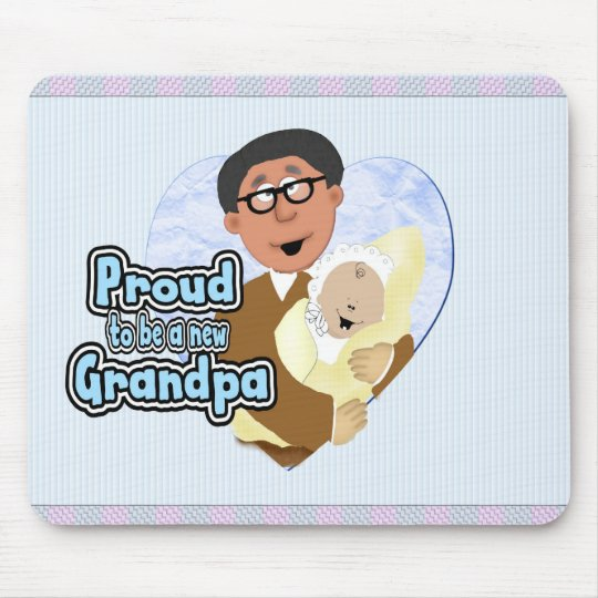 New Grandpa Mouse Mat
