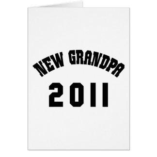 New Grandpa Shirt 2011 Card
