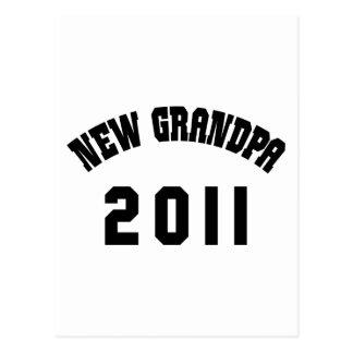 New Grandpa Shirt 2011 Postcard