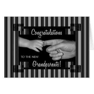 New Grandparents Congratulations Greeting Card