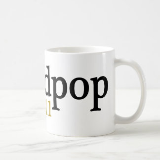 New Grandpop est 2011 Basic White Mug