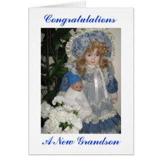 new granson greeting card