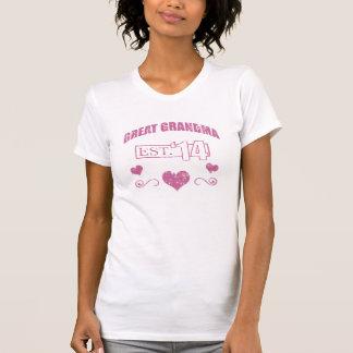 New Great Grandma 2014 (Grunge) T-Shirt