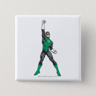 New Green Lantern 2 2 15 Cm Square Badge