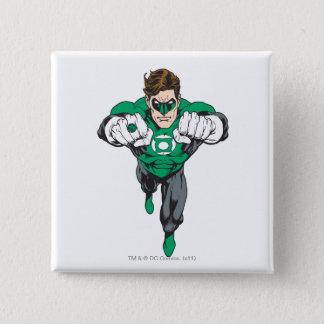 New Green Lantern 3 15 Cm Square Badge