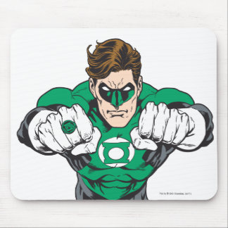 New Green Lantern 3 Mouse Mat